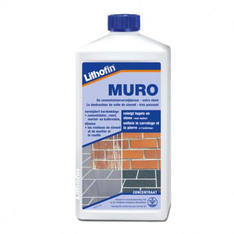 onderhoudsproduct, onderhoud tegel en beton, muro, lithofin