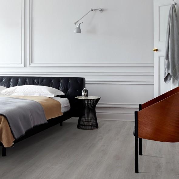 impermo onderhoudsvriendelijke zilvergrijze laminaatvloer met realistische houtlook effect parket