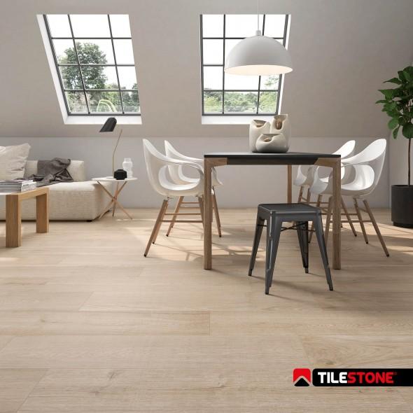 keramisch parket, vloertegels, houtlook, beige, tilestone, impermo