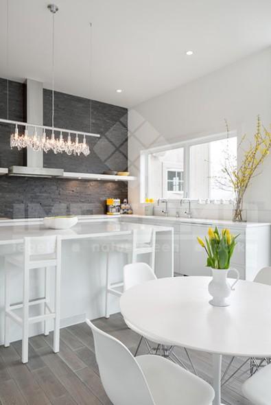 Steenstrips Voor Keuken : , steenstrips natuursteen voor binnen of buiten in moderne keuken
