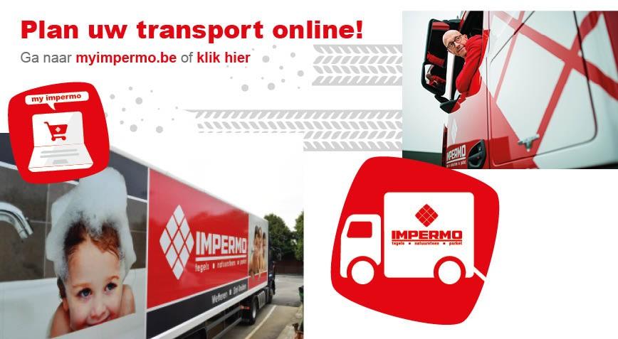Plan uw transport online!