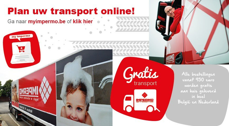Plan uw transport online!